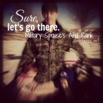 Sure.  Let's Go There.  Military spouses and rank