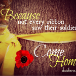Ribbons and Remembrance Day