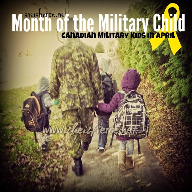 Canadian Military Child
